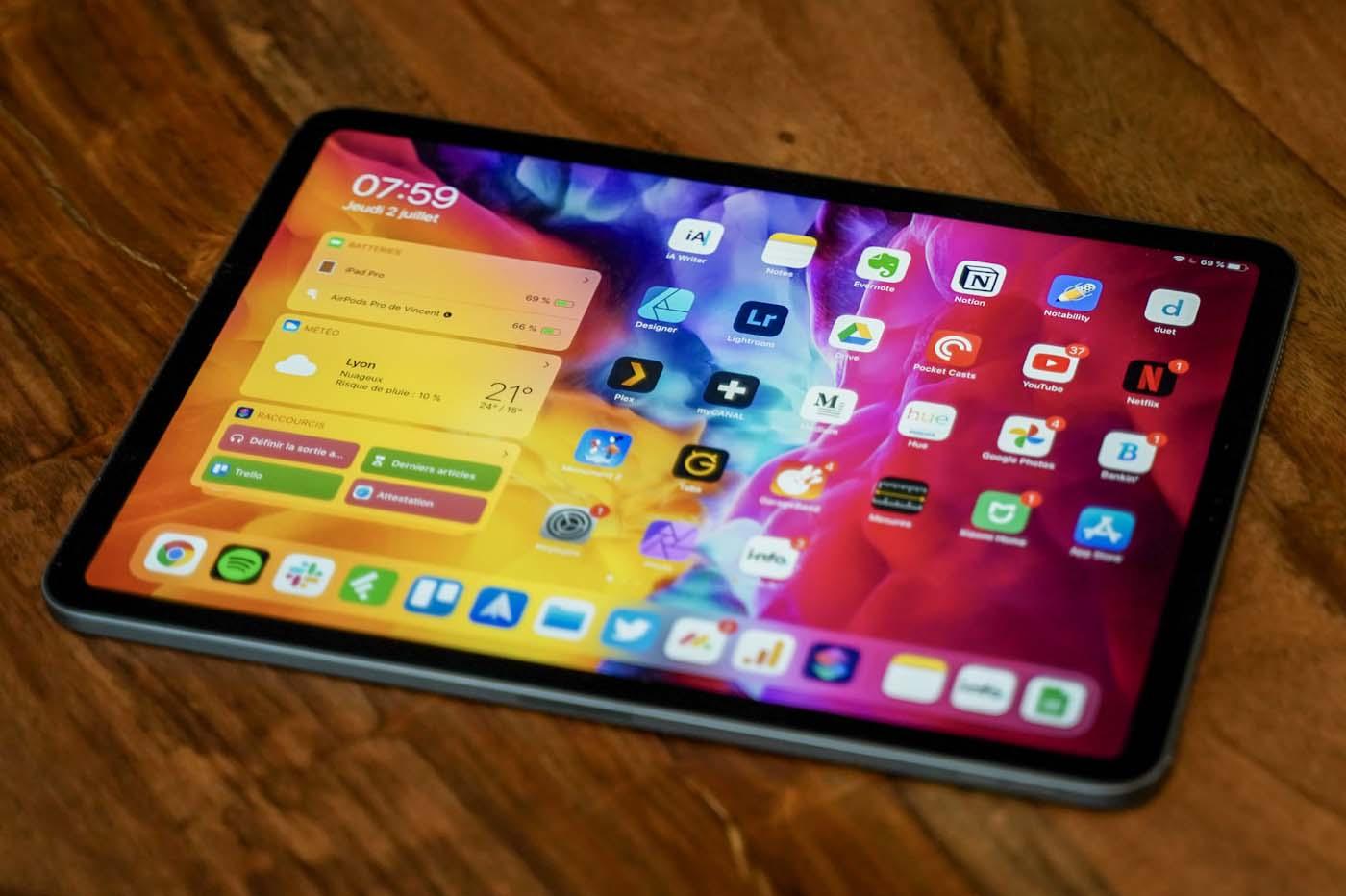 La sortie d'un iPad Pro début 2021 est de plus en plus ...