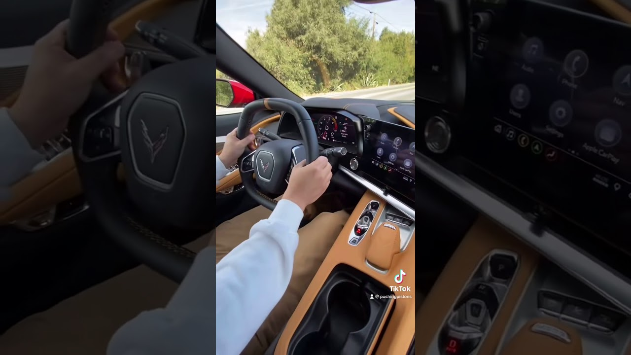 2021 Corvette Launch Control! - YouTube