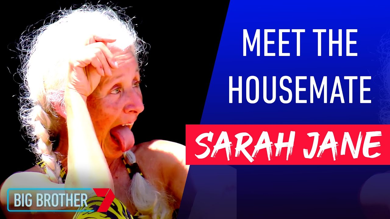 Go Getter Sarah Jane | Meet the Housemate | Big Brother ...