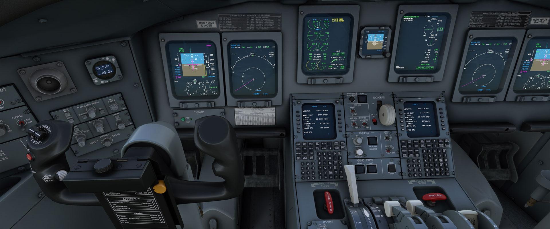 Microsoft Flight Simulator - Aerosoft CRJ 550-700 bölgesel ...