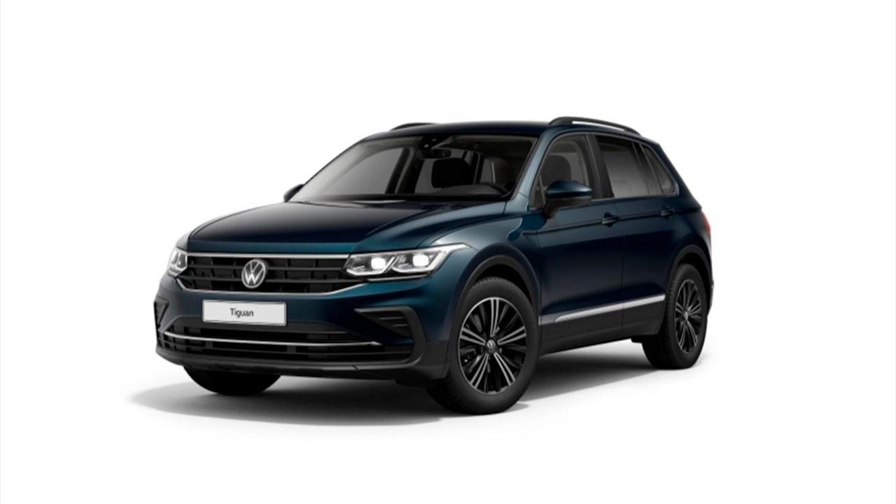 El nuevo Volkswagen Tiguan 2021 ya disponible con motor ...