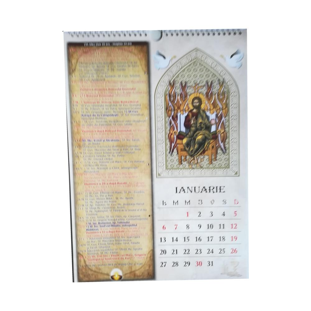 Calendar de perete crestin ortodox 2020, format A3 + carte ...