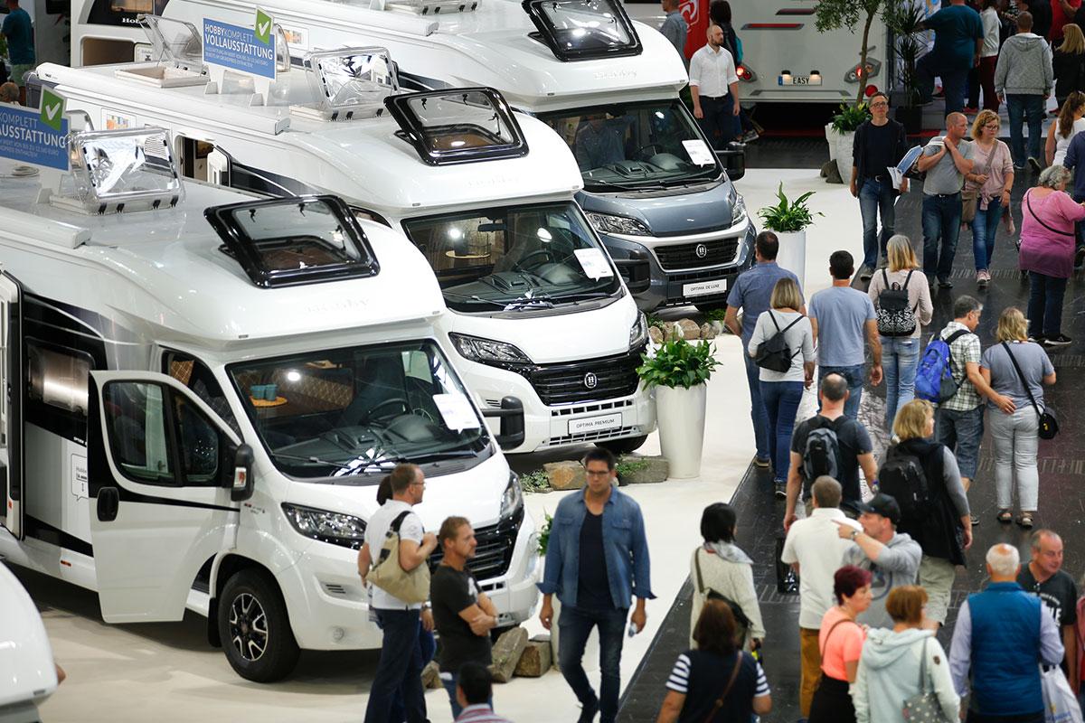 Messe - Camping, Cars & Caravans