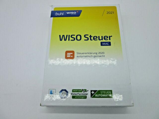WISO steuer:Mac 2021 (2020, CD-ROM (ohne Audio)) günstig ...