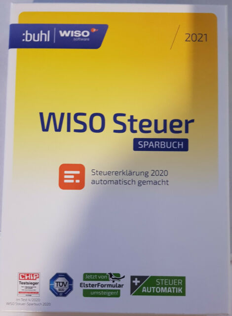 WISO Steuer Sparbuch 2021 für das Steuerjahr 2020 günstig ...