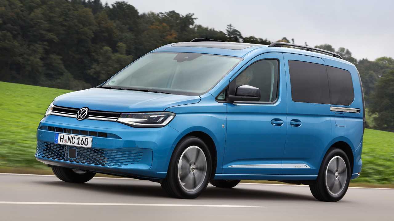 VW Caddy als Plug-in-Hybrid | Motor1.com Fotos