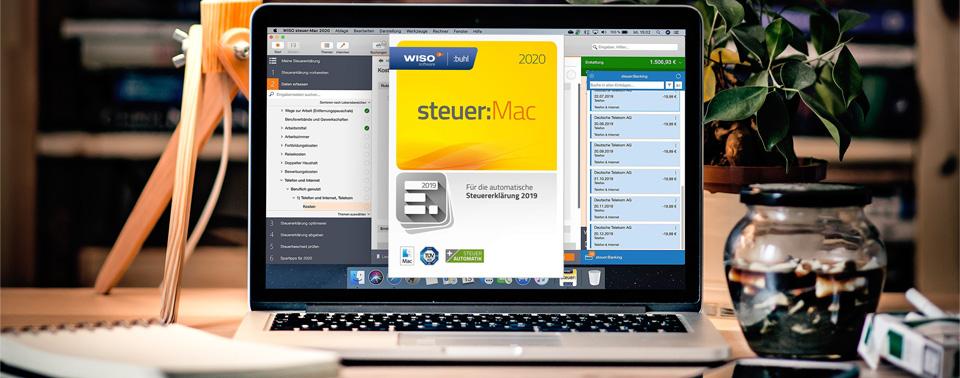 Steuererklärung 2019: WISO steuer:Mac 2020 zum ...