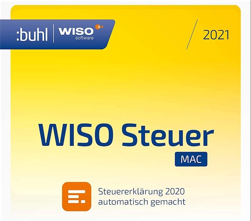 WISO Steuer Mac 2021 (Steuerjahr 2020) nur heute 19,99 ...