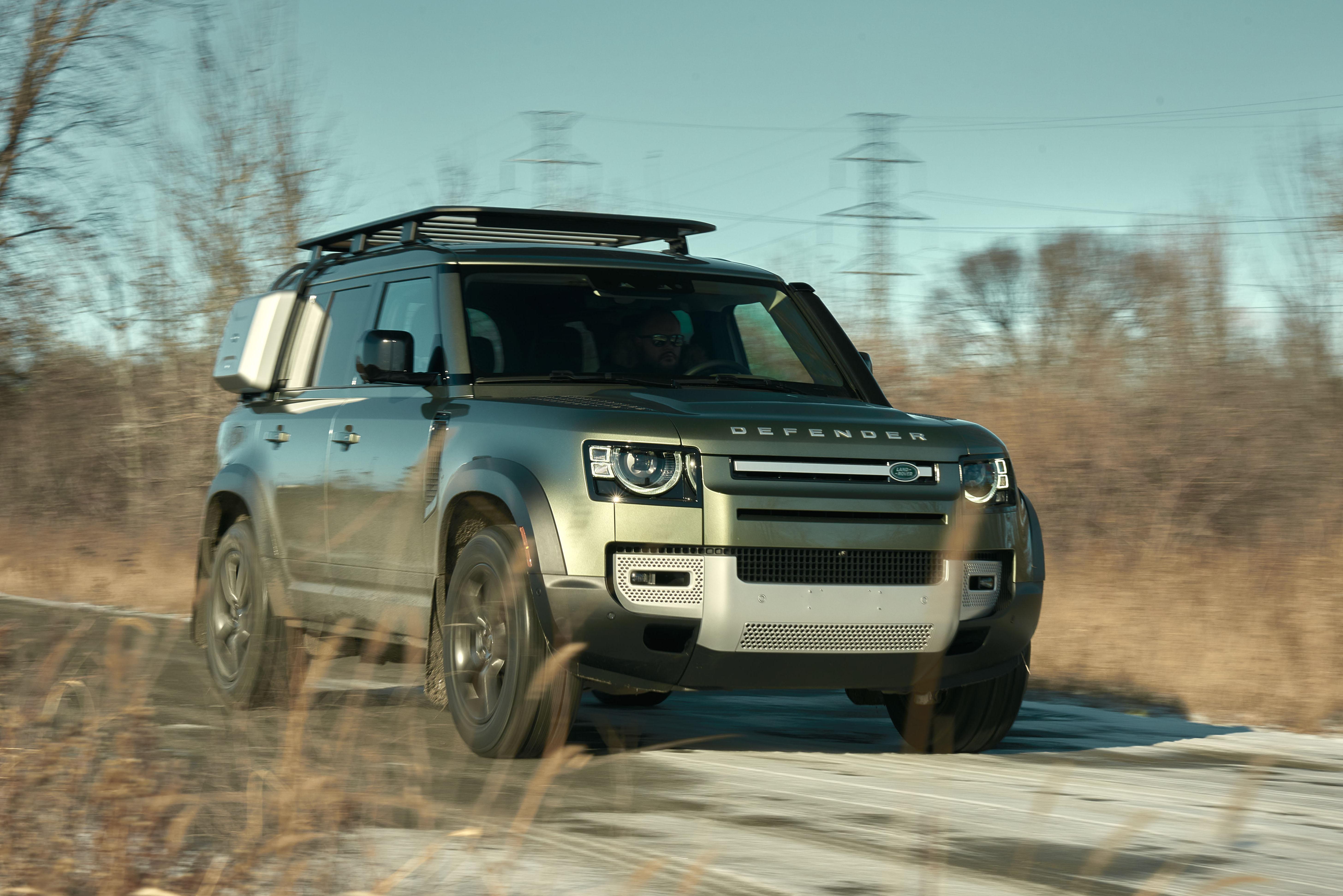 2021 Land Rover Defender Top Shot | Clavey's Corner