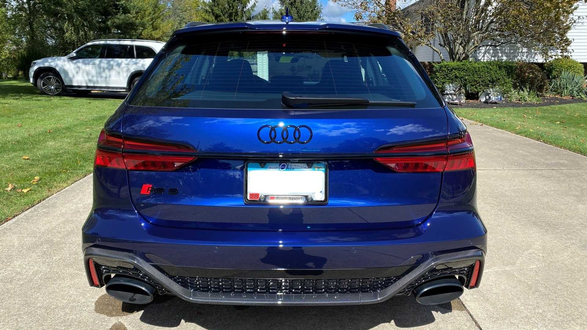 2021 Audi RS6 Avant Owner Selling Super Wagon For $207,000 ...