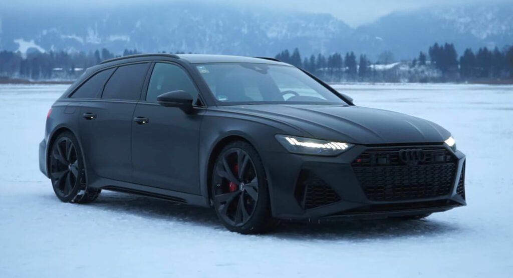 Blacked-Out Tuned 2021 Audi RS6 Avant Has The Looks And ...