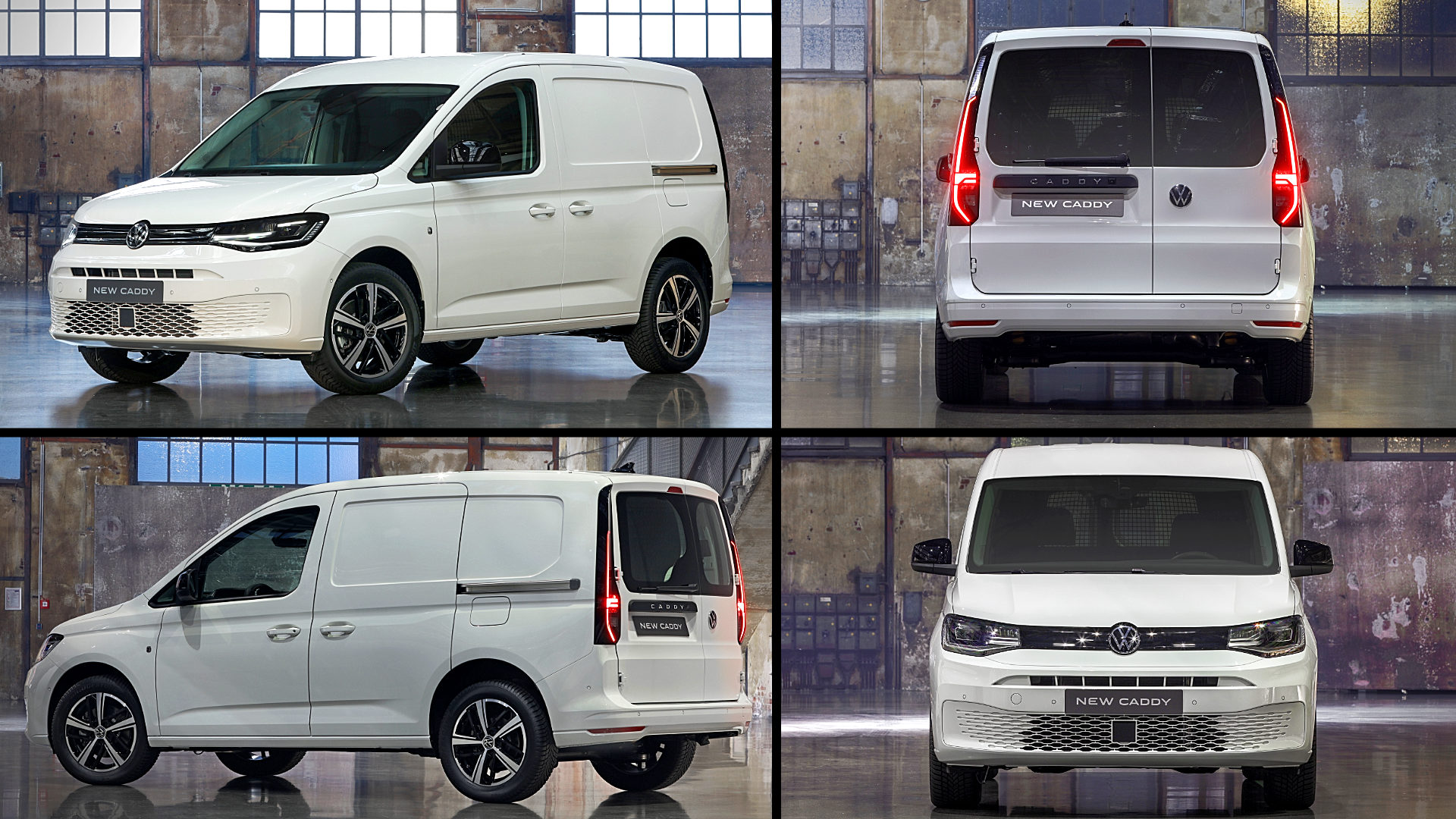 2021 Volkswagen Caddy Kasten White