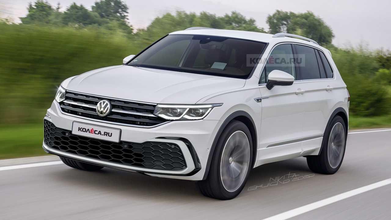 VW Tiguan 2020 Rendering: So könnte das Facelift aussehen