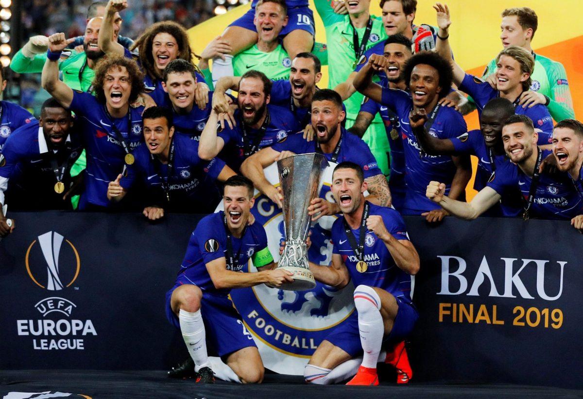 Chelsea es campeón de la UEFA Europa League - Impressiones MX