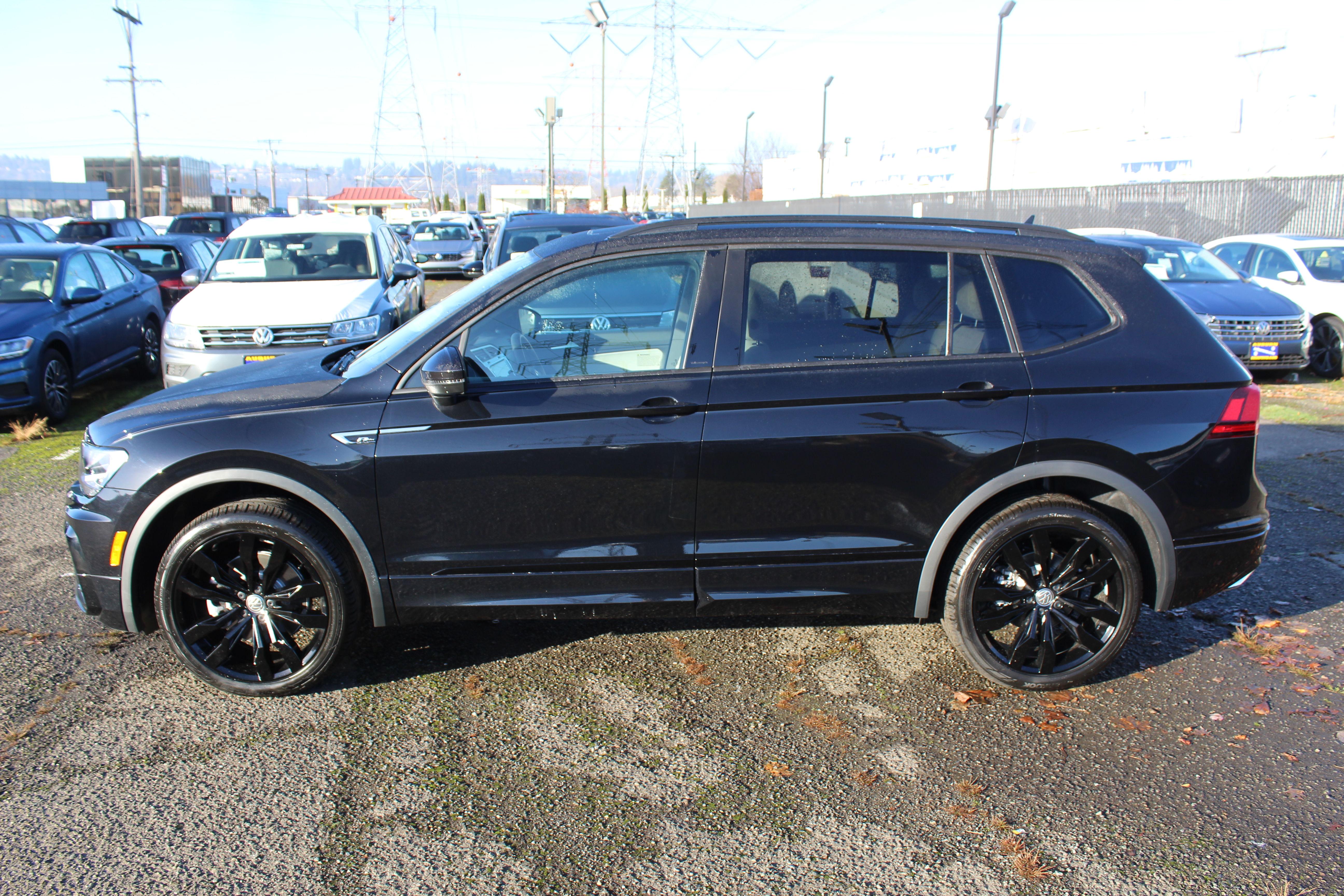 New 2021 Volkswagen Tiguan 2.0T SE R-Line Black 4Motion 4D ...