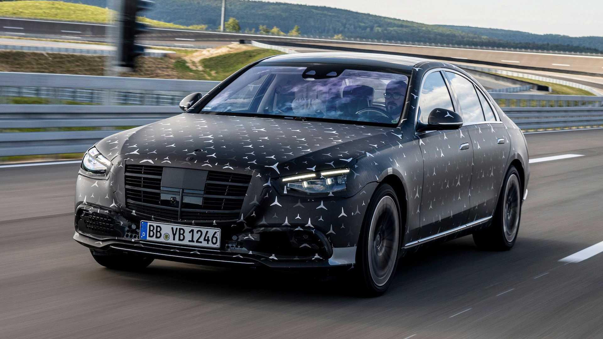 Nouvelle Mercedes Classe S 2021, les premières photos de ...