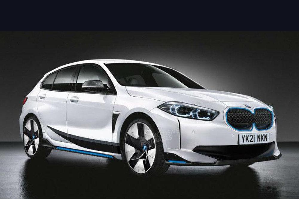 Der BMW 1er wird auch als reines Elektroauto erhältlich ...