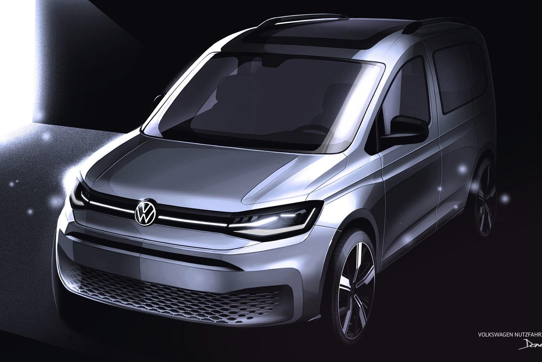 Volkswagen Caddy 5 : des teasers plus précis