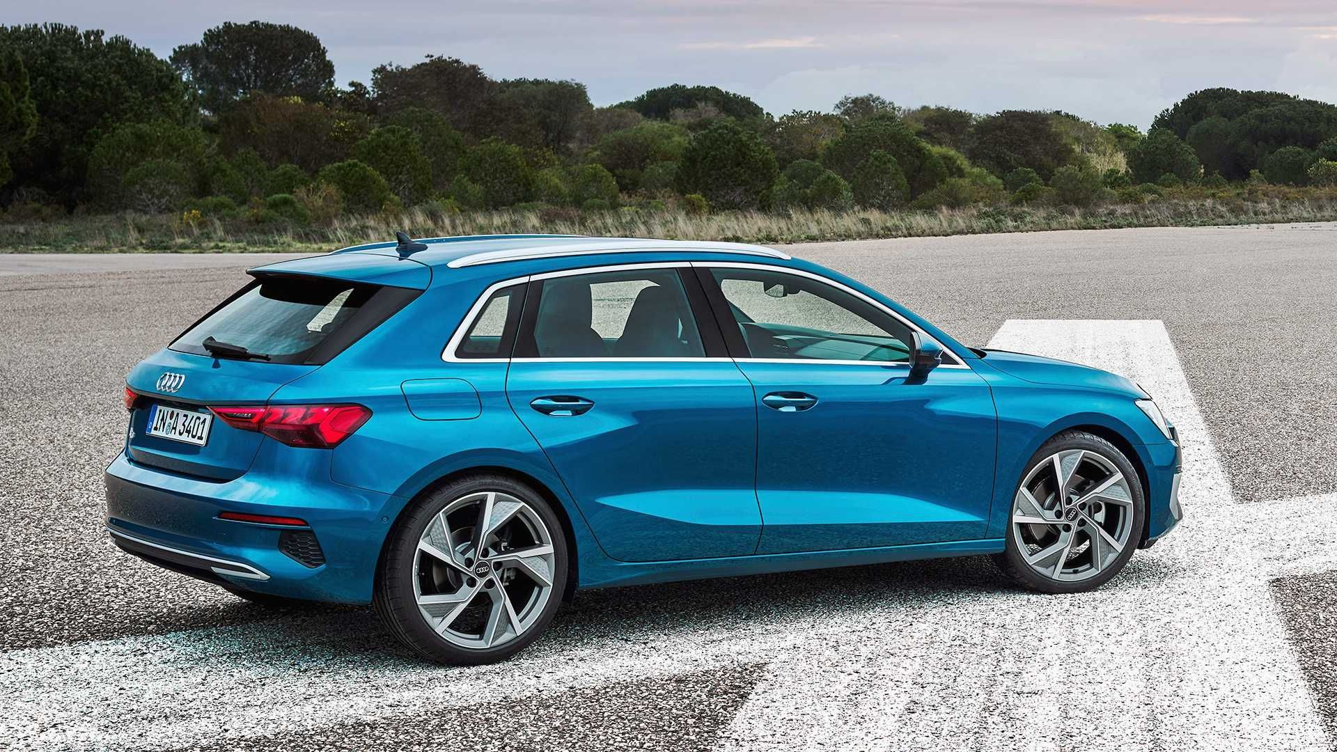 Meet the new 2021 Audi A3 Sportback!