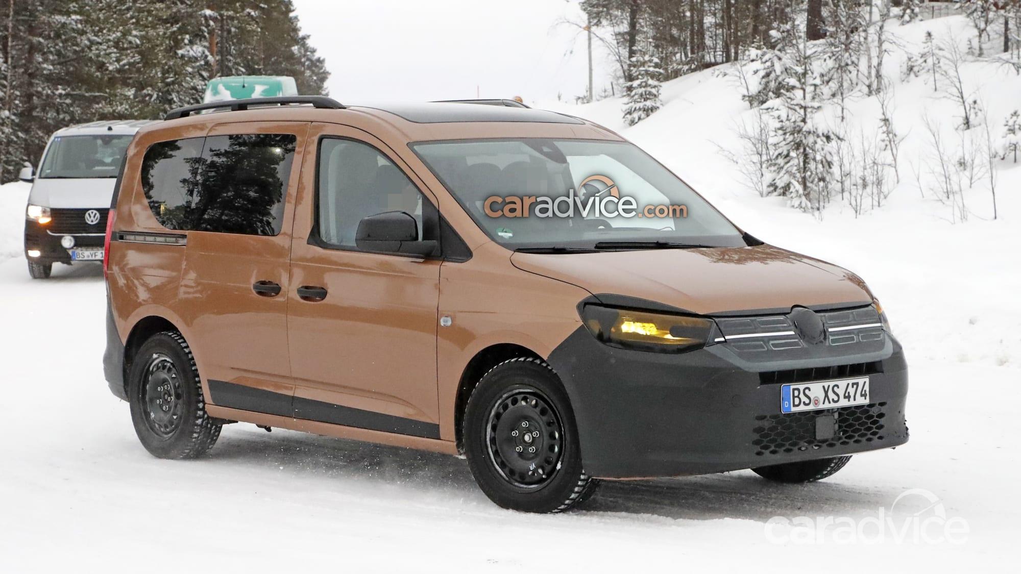 2021 Volkswagen Caddy spied | CarAdvice