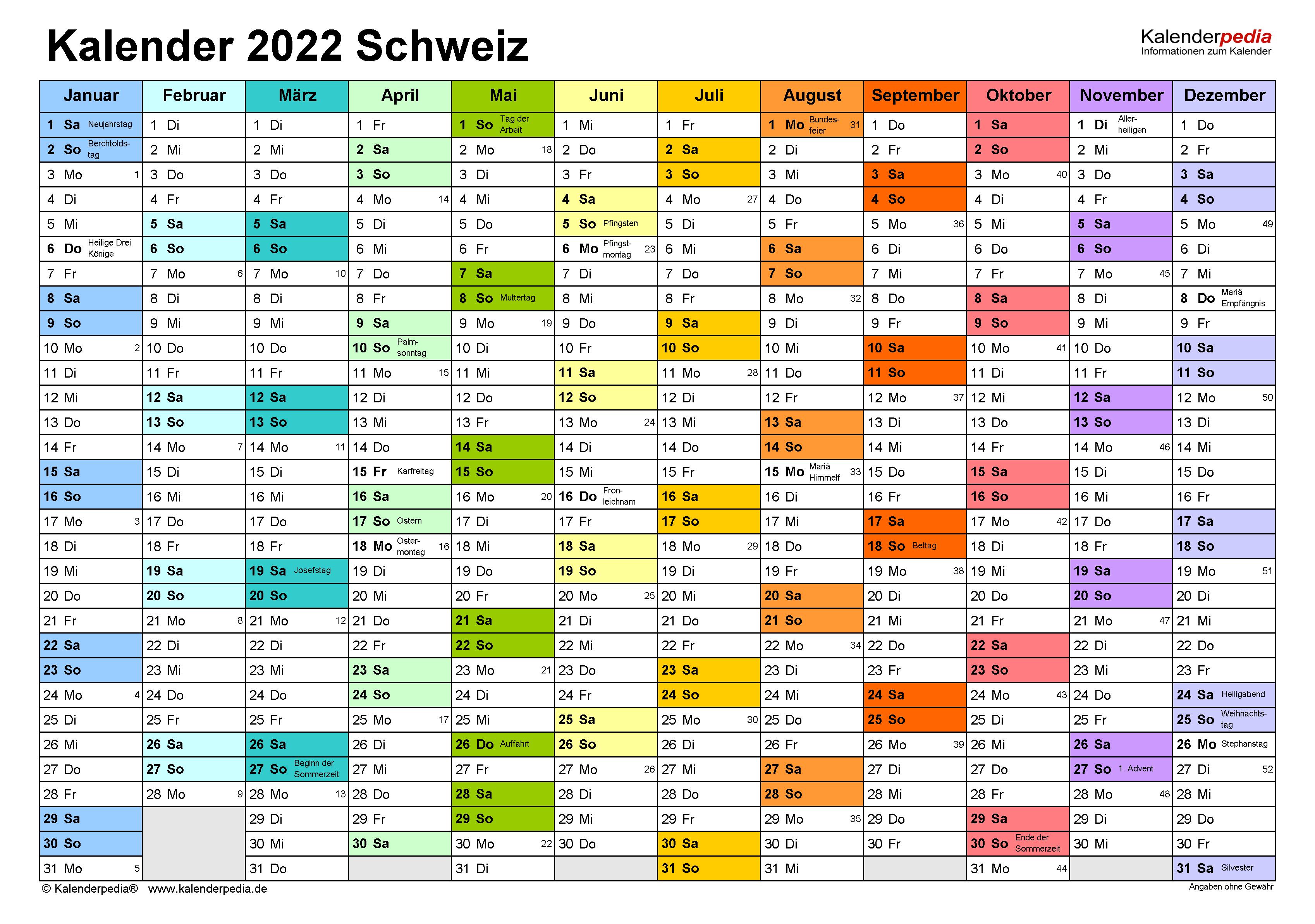 Kalender 2021 Nrw Din A4 Zum Ausdrucken / Kalender 2021 ...