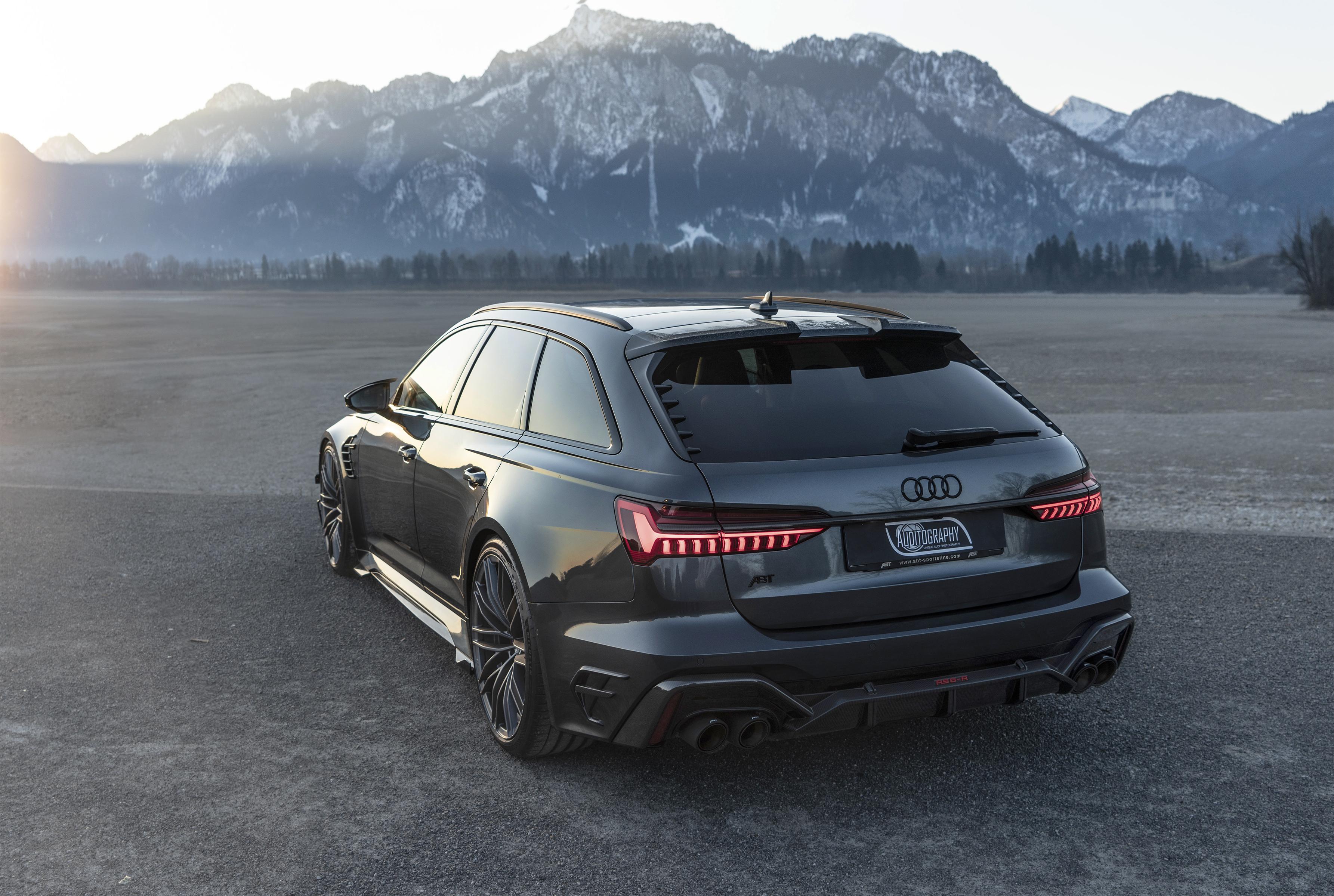 Video + photos: 2021 Audi RS6-R Avant 740hp - premiere shoot