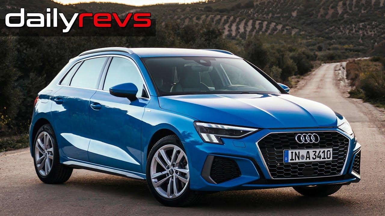 2021 Audi A3 Sportback   Turbo Blue   Driving & Design ...