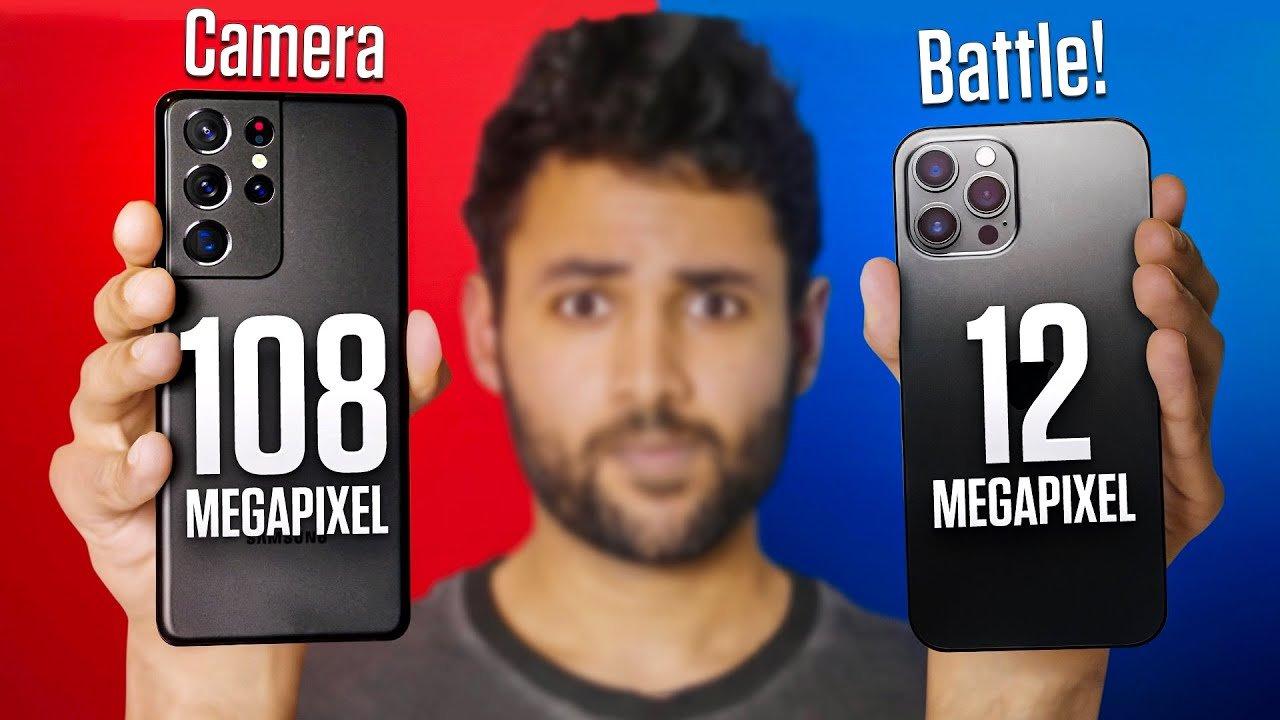 Samsung Galaxy S21 Ultra vs iPhone 12 Pro Max Camera Test ...