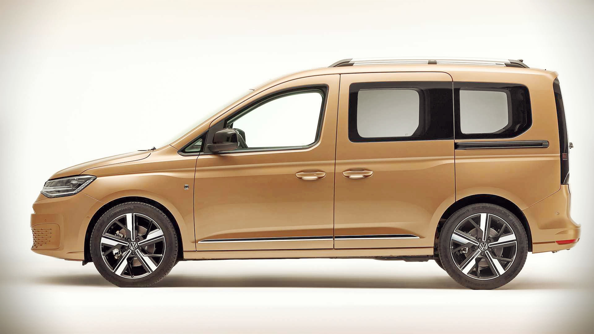 2021 Volkswagen Caddy Side Wallpaper Hd