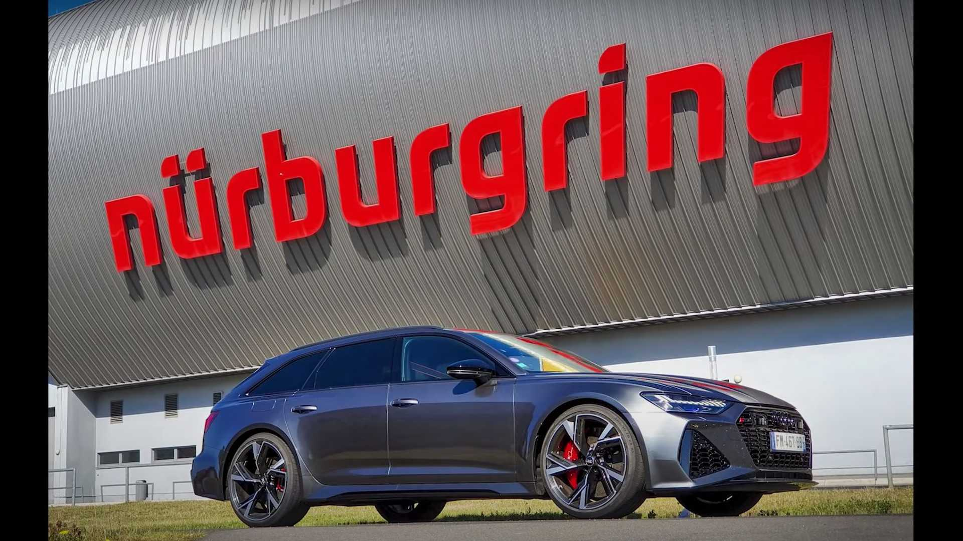 Watch The 2021 Audi RS6 Avant Lap The Nurburgring From The ...